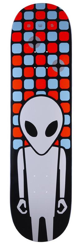 Alien Workshop Alien Workshop Matrix Embossed Deck - 8.25 x 32.25