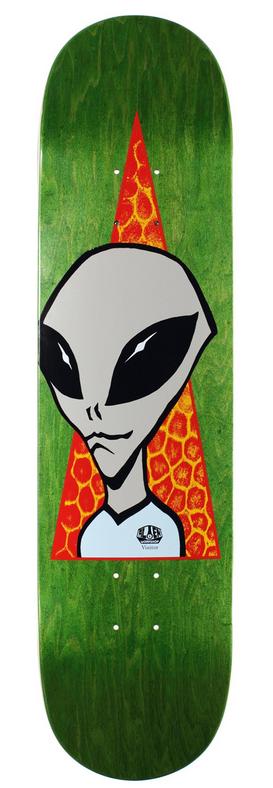 Alien Workshop Alien Workshop Visitor Deck - 8.0 x 31.625