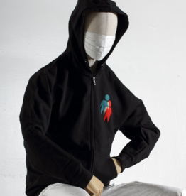 Alien Workshop Alien Workshop Starlite Zip-up Hoodie - Black (size X-Large)