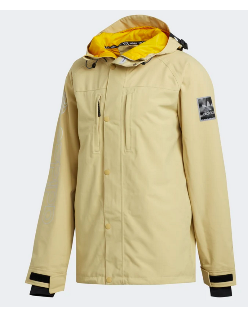 Adidas Adidas Utility Jacket - Sand/Collegiate Gold