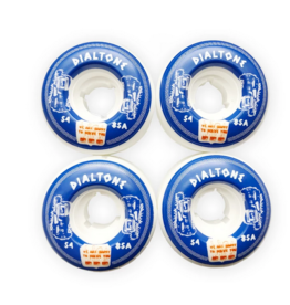 Dial Tone Wheel Co. Dial Tone Anthora Round Cut 54mm 85a Wheels (set of 4)