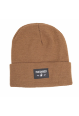 Theories Brand Theories Moluch Acrylic Beanie - Coyote Brown