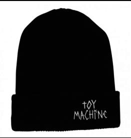 Toy Machine Toy Machine Tape Logo Beanie - Black