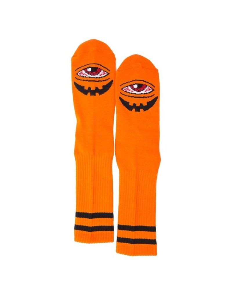 Toy Machine Toy Machine Sect-O-Lantern Crew Socks - Orange