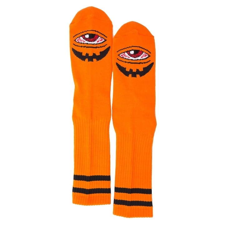 Toy Machine Toy Machine Sect-O-Lantern Crew Socks - Orange