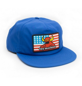 Toy Machine Toy Machine America Monster Unstructured Hat - Blue