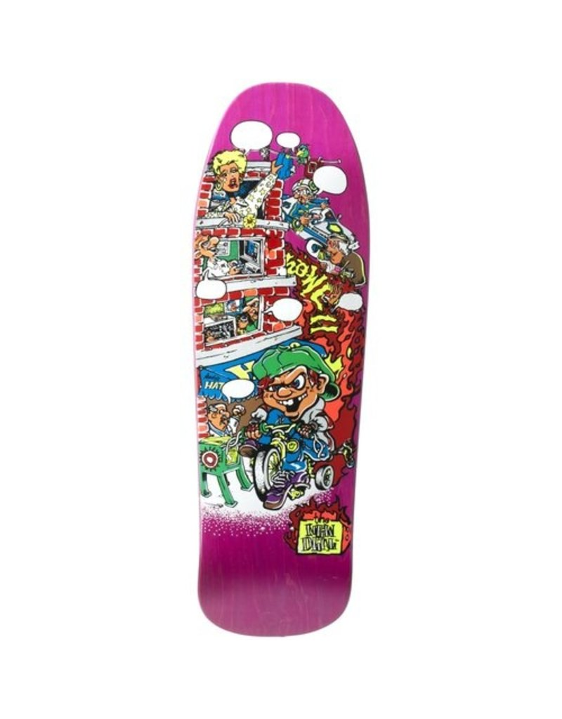 New Deal New Deal Howell Tricycle Kid Screen Printed Deck - 9.625 x 30.8