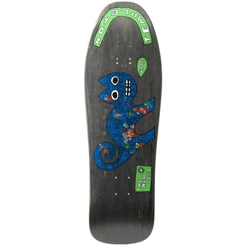 New Deal New Deal Templeton Cat Screen Printed Deck - 9.75 x 31.5