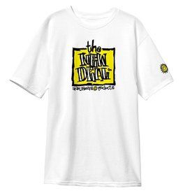 New Deal New Deal Original Napkin Logo T-shirt - White