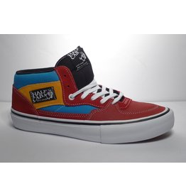 Vans Vans Half Cab Pro - (Knee Slide) Red/Blue (size 12)