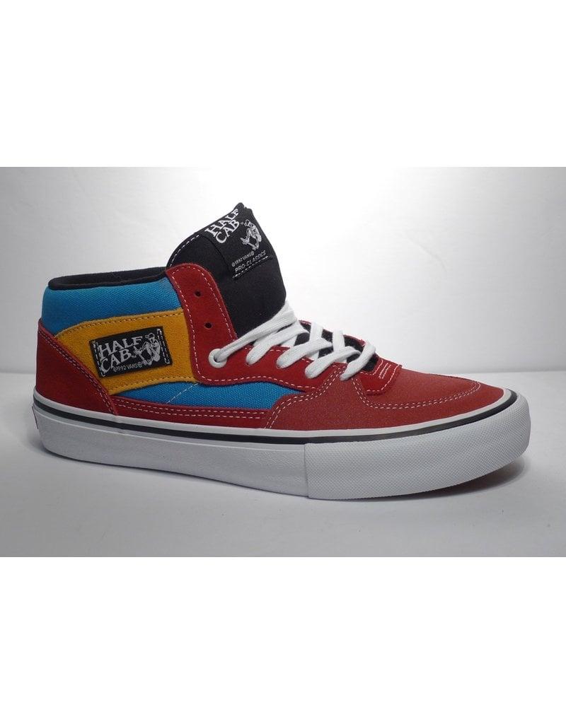 Vans Vans Half Cab Pro - (Knee Slide) Red/Blue  (size 12)