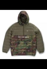 Vans Carlon Anorak Packable Puffer Jacket - Camo/Grape Leaf