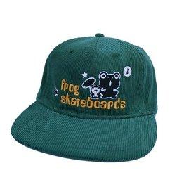 Frog Skateboards Frog Skateboards Corduroy Hat - Green