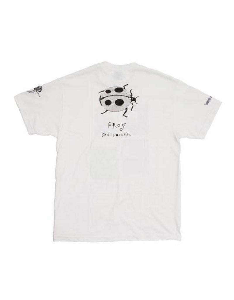 Frog Skateboards Frog I Love Energy T-shirt - White