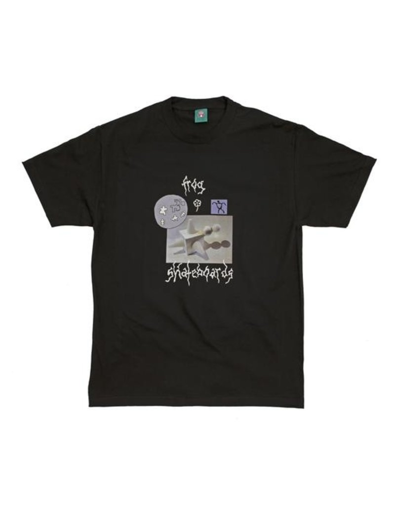 Frog Skateboards Frog Gift From the Moon T-shirt - Black