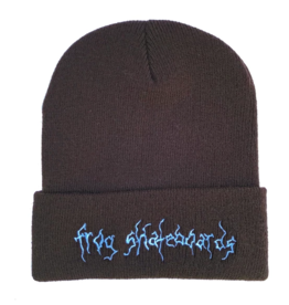 Frog Skateboards Frog Evil Moon Beanie - Brown/Blue