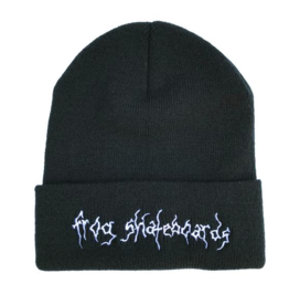 Frog Skateboards Frog Evil Moon Beanie - Black