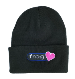 Frog Skateboards Frog Perfect Heart Beanie - Black