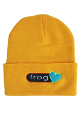 Frog Skateboards Frog Perfect Heart Beanie - Yellow