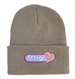 Frog Skateboards Frog Perfect Heart Beanie - Oatmeal