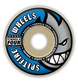 Spitfire Spitfire Formula Four Radials 56mm 99d wheels (set of 4)