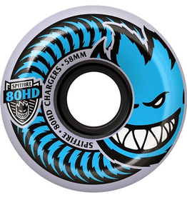 Spitfire Spitfire 80hd charger classic Clear/Blue 58mm wheels (set of 4)