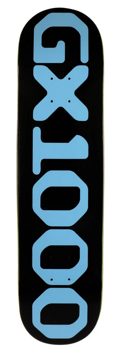 GX1000 GX1000 OG Logo Black Deck - 8.25 x 32.125
