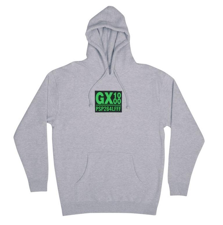 GX1000 GX1000 PSP264PFFF Hoodie - Grey