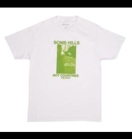 GX1000 GX1000 Bomb Hills T-shirt - White/Green