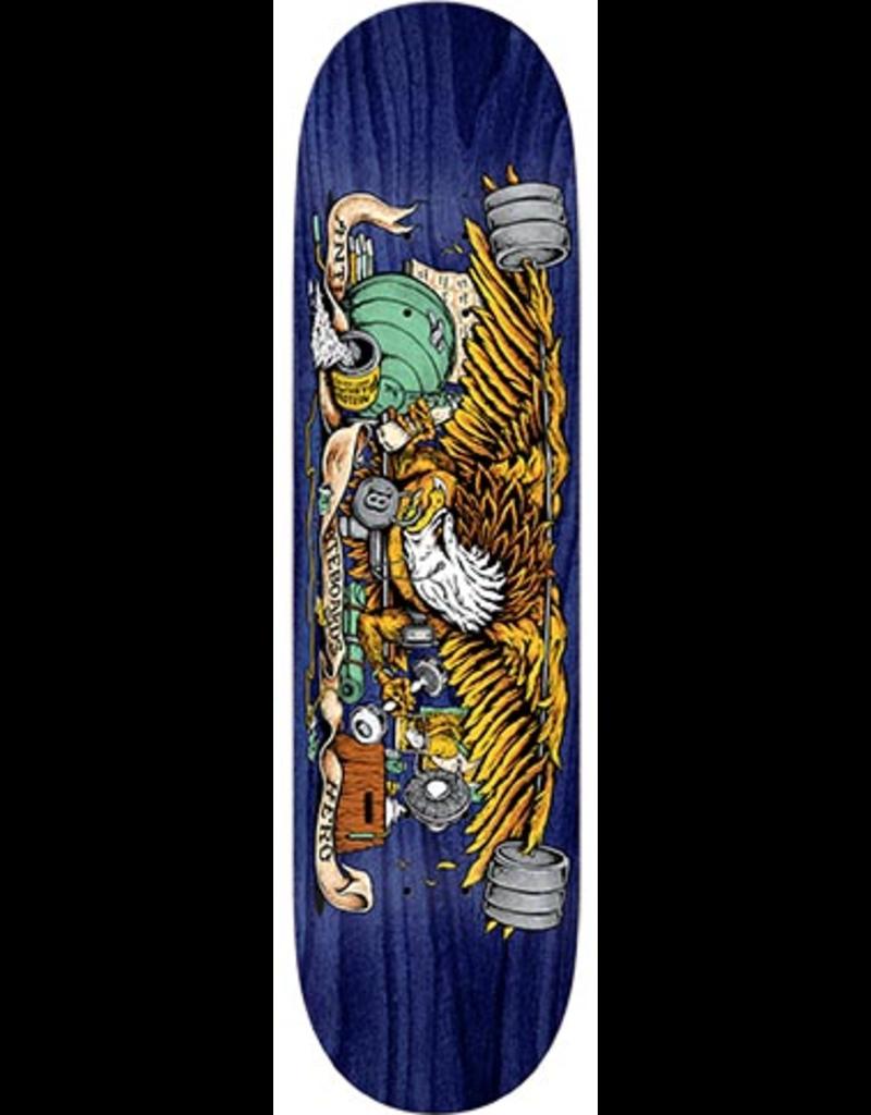 Anti-Hero Anti-Hero Team Pumping Feathers Deck - 8.28 x 31.7