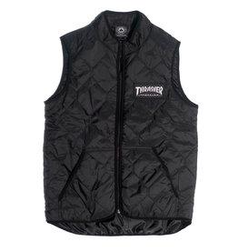 Thrasher Mag Thrasher Magazine Logo Vest - Black