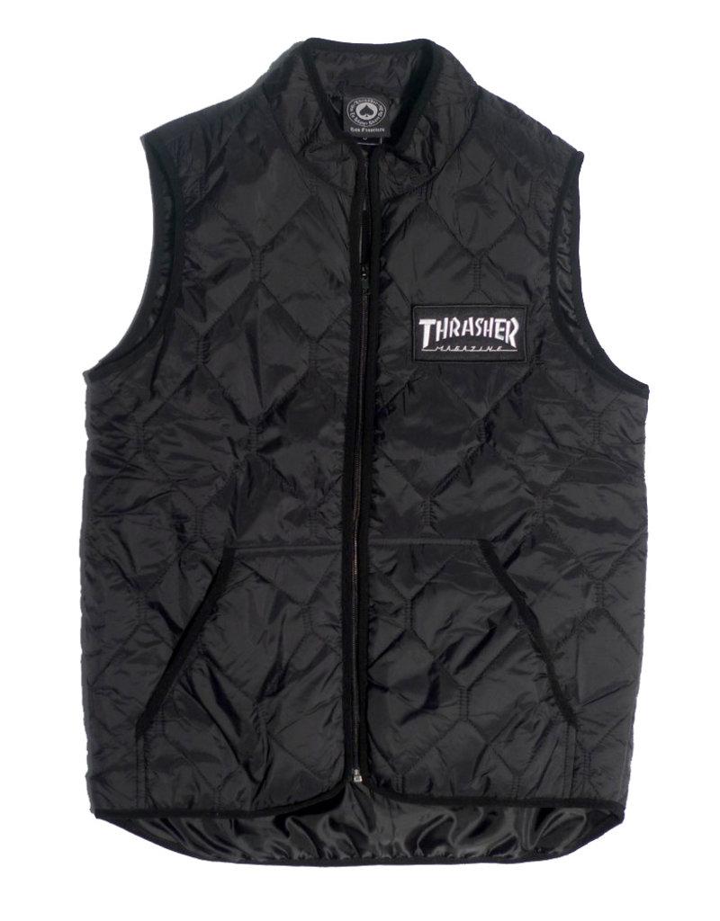 Thrasher Mag Thrasher Magazine Logo Vest - Black  (size Small or Medium)