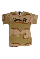 Thrasher Mag Thrasher Calligraphy T-shirt - Desert Camo (size Large)