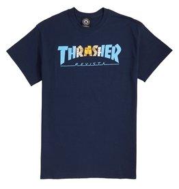 Thrasher Mag Thrasher Argentina T-shirt - Blue