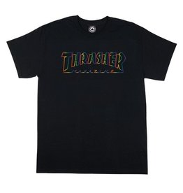 Thrasher Mag Thrasher Spectrum T-shirt - Black (size Medium)