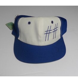 Scumco & Sons Scumco & Sons 1960's New Era Cap - Royal/White