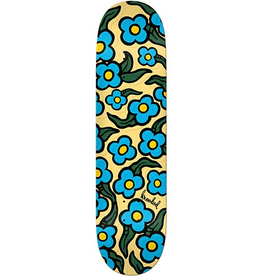 Krooked Krooked Team Wild Style Flowers Embossed Deck - 8.06 x 31.91