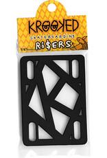 Krooked Krooked 1/4 Riser Black