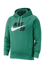 Nike SB Nike sb Icon Pullover Hoodie - Neptune Green/White