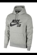 Nike SB Nike sb Icon Pullover Hoodie - Dark Grey Heather/Black
