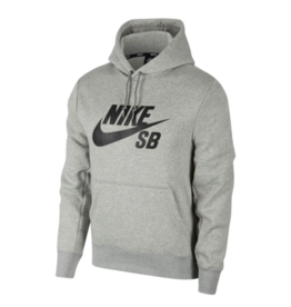 Nike SB Nike sb Icon Pullover Hoodie - Dark Grey Heather/Black