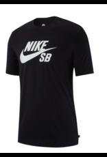 Nike SB Nike sb Dry Dfct Logo T-shirt -Black/White  (size X-Large)