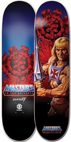 Element Element Masters of the Universe He Man Deck - 8.25 x 31.933