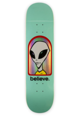 Alien Workshop Alien Workshop Believe Hologram Teal Deck - 8.0 x 31.625