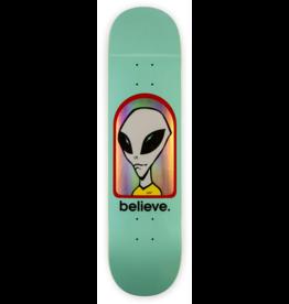 Alien Workshop Alien Workshop Believe Hologram Teal Deck - 7.75 x 31.25