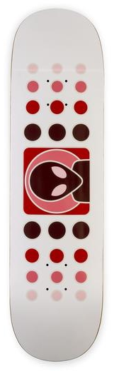 Alien Workshop Alien Workshop Dot Fade Red Deck - 8.5 x 32.25