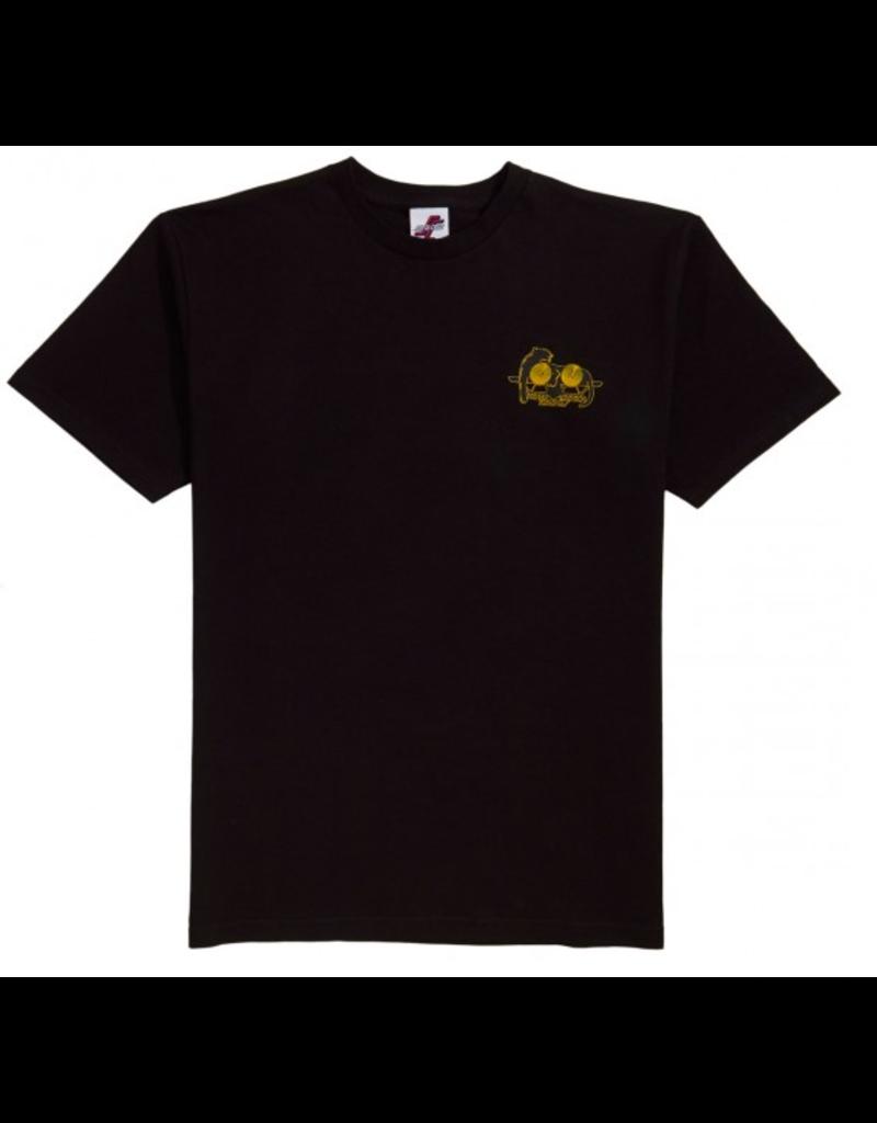 Santa Cruz SMA Natas Panther T-shirt - Black  (size Large)