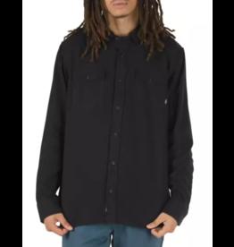 Vans Vans HerefordF Flannel L/S Button up - Black (size Large)