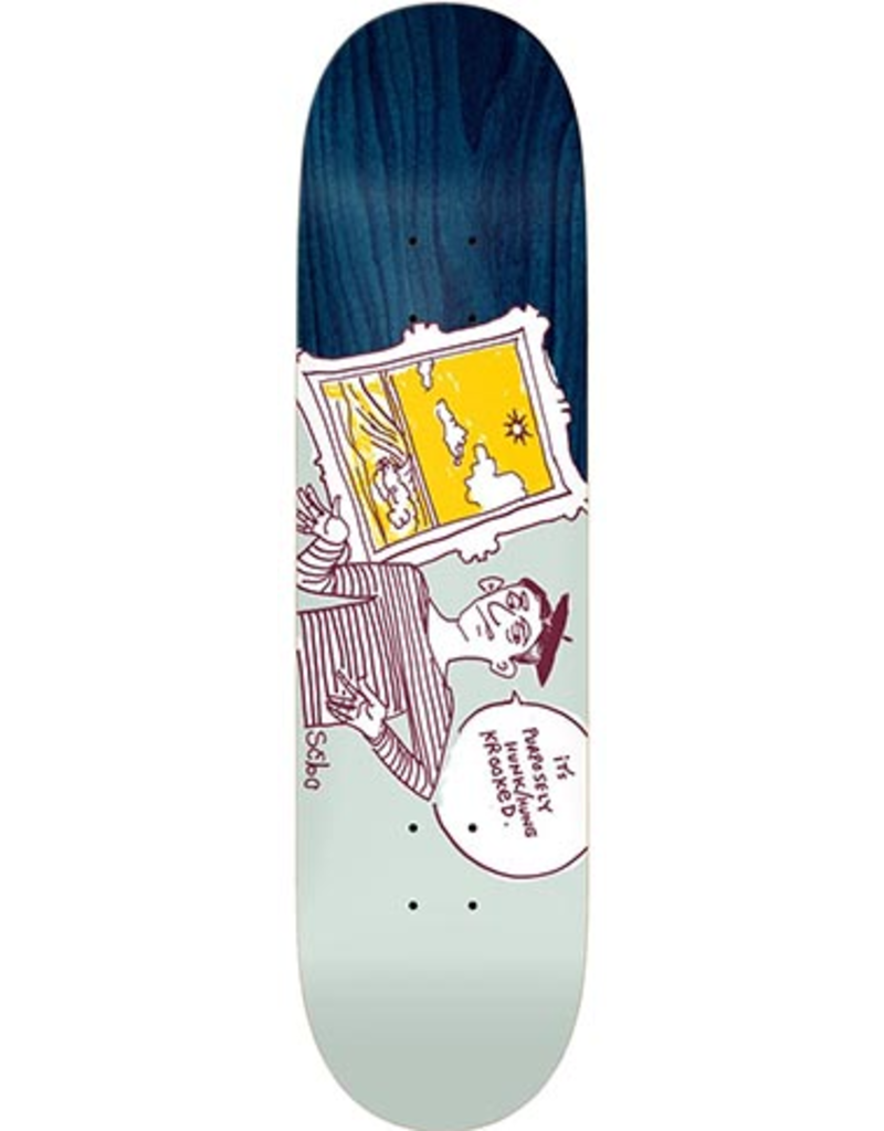 Krooked Krooked Sebo Purposely Deck - 8.06 x 31.8