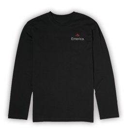 Emerica Emerica x Independent Longsleeve T-shirt - Black (size Small)